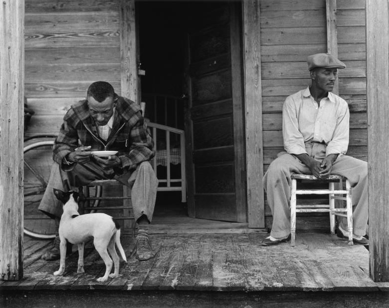 Two Men on Porch_West Palm Beach FL_1941.jpg