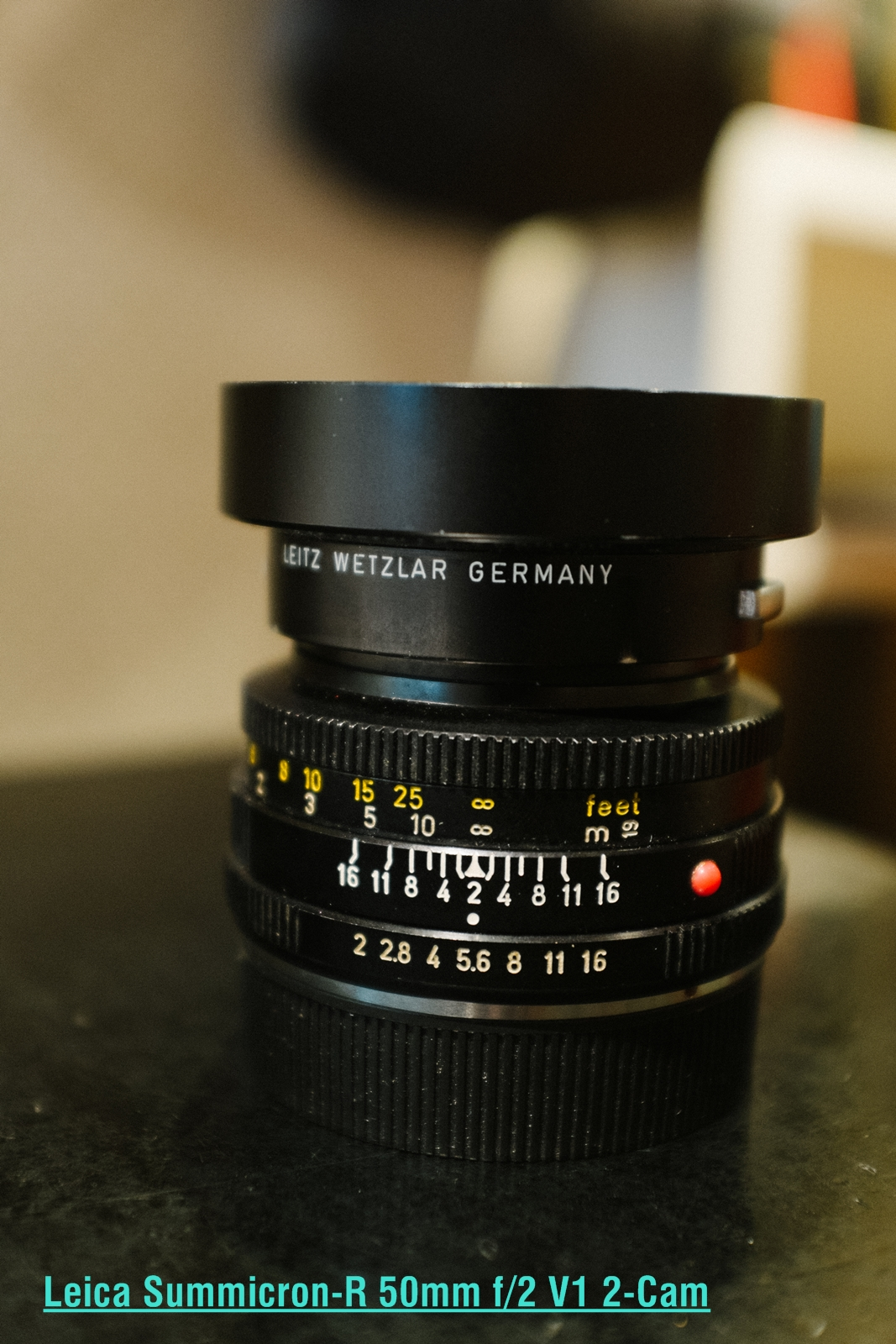 Leica Summicron-R 50mm f/2 V1 2-Cam