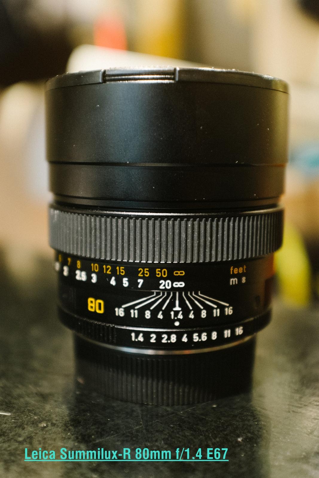 Leica Summilux-R 80mm f/1.4 E67