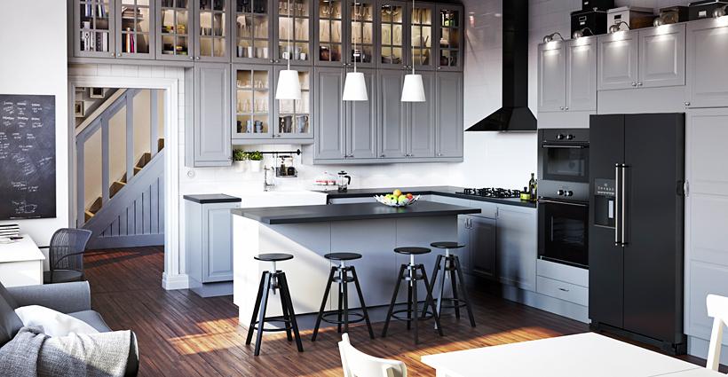 An Ikea kitchen