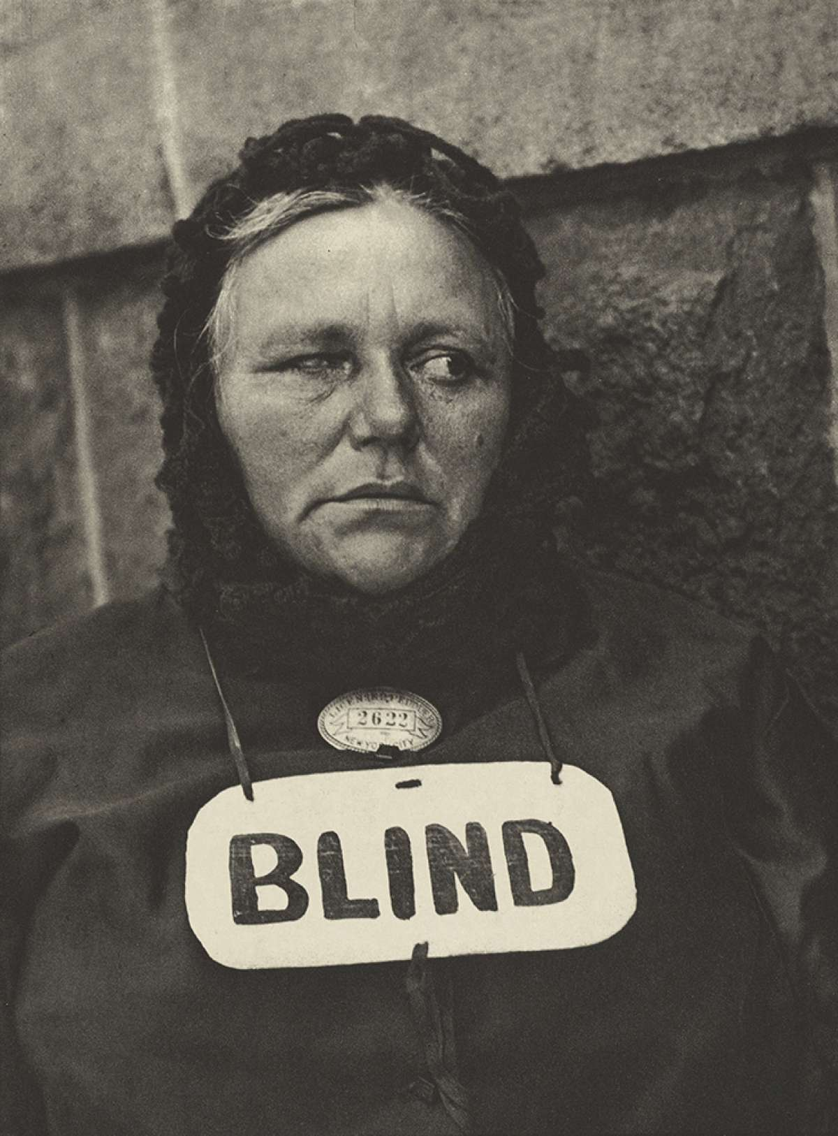 """""""Blind,"""" New York, 1916  © Paul Strand—Courtesy of The J. Paul Getty Museum, Los Angeles"""