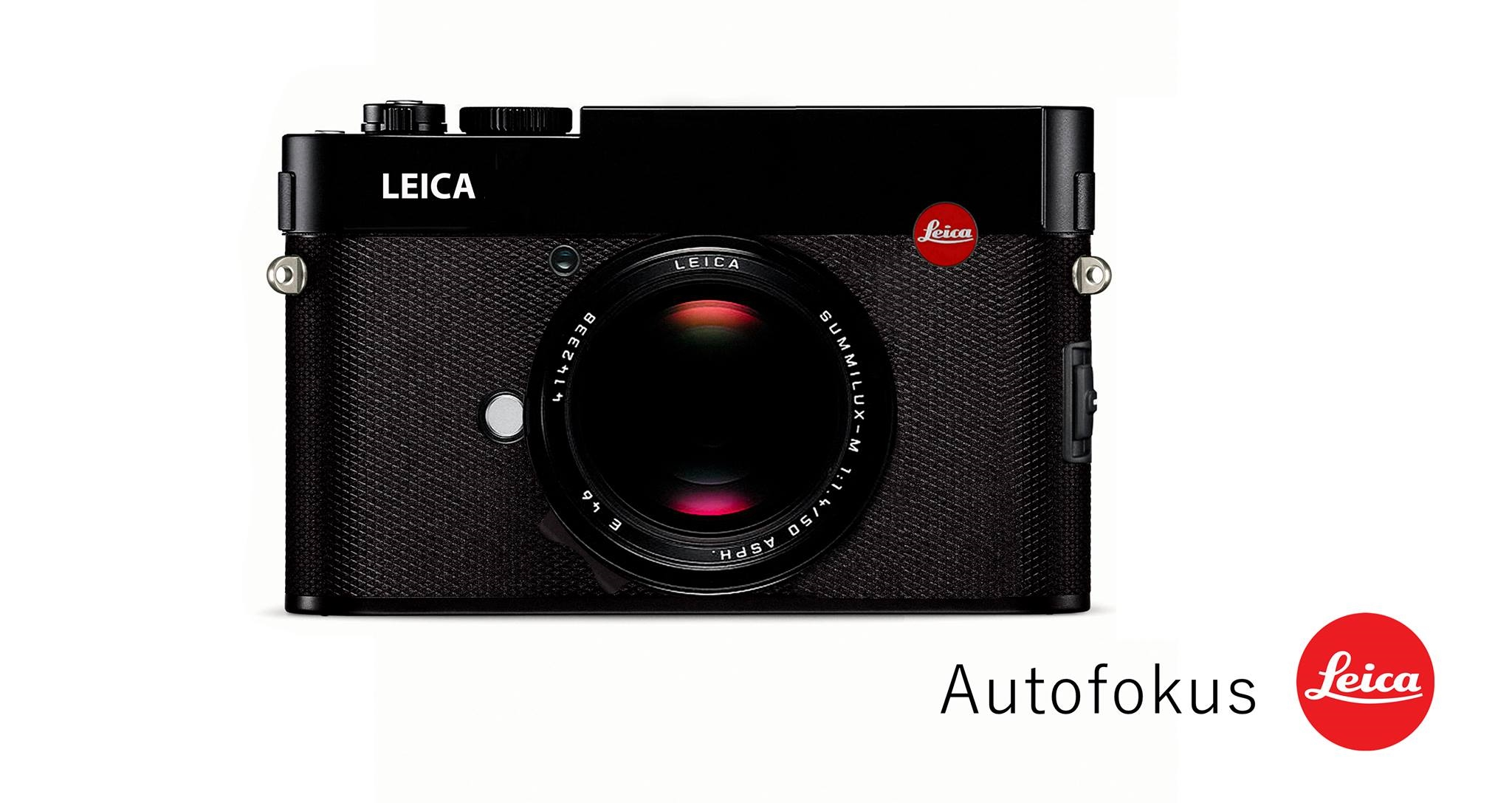 Artist impression of an Interchangeable Leica Q