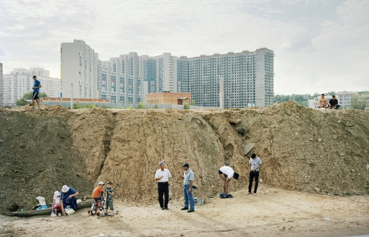Pashvino V, Suburbs of Moscow, Russia  (2012) from the series  Pastoral  by Alexander Gronsky