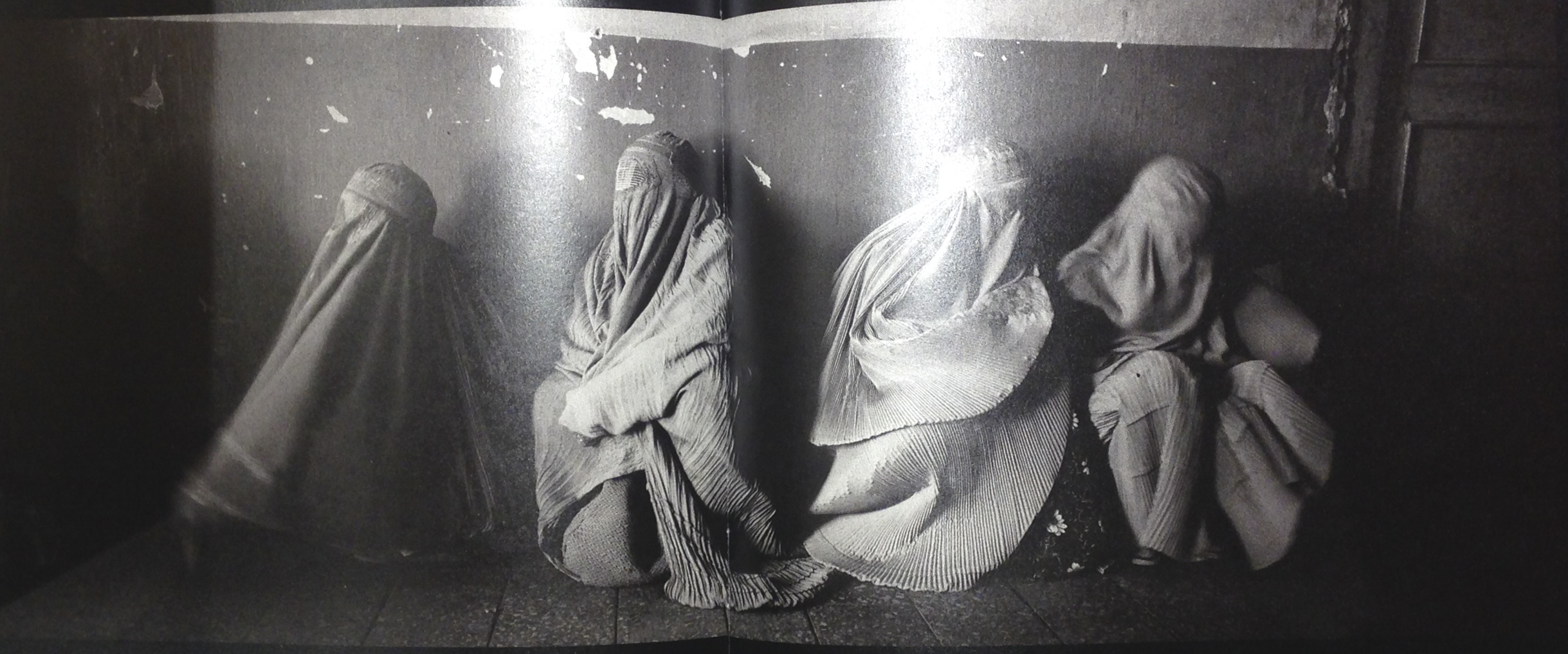 """XPan shot from the book """"Generation AK"""" by Stephen Dupont"""
