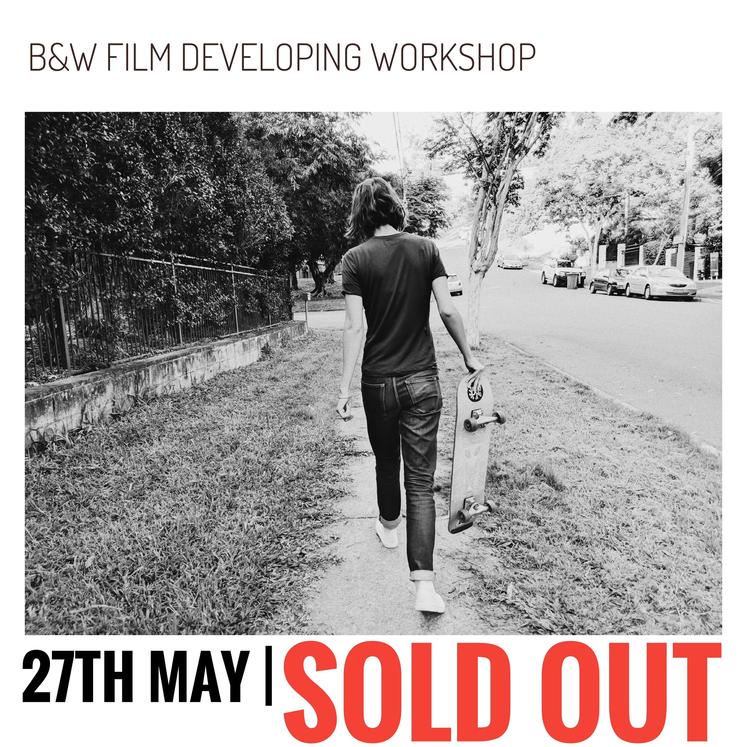 FILM DEVELOPINGWORKSHOP - Learn how to 'Bulk Roll' your own 35mm film, 'Develop and Scan' your film ready for your PC or Mac and software of choiceDATE: Sunday 27th MayCOST: $89