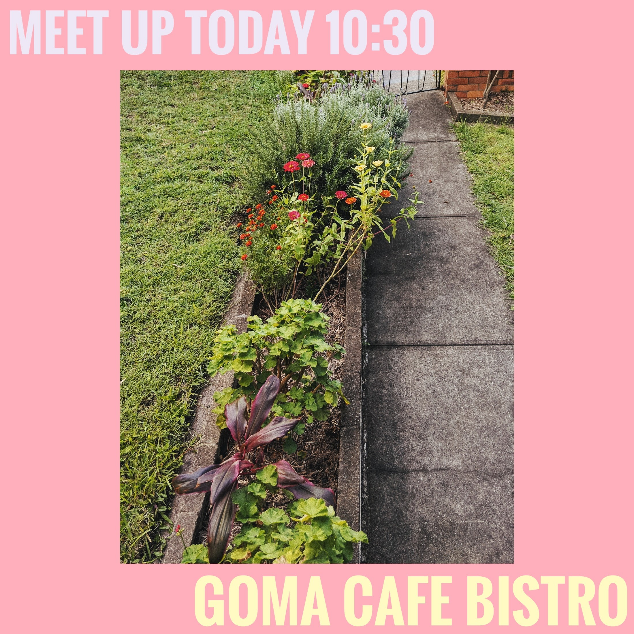 MEET UP - CAFE BISTRO 10:30 AMSunday 14th of AprilGallery of Modern Art, Stanley Pl, South Brisbane QLD 4101GRAB A COFFEE AND EVEN SOME BREAKFAST/BRUNCH IF YOUR UP FOR ITAS ALWAYS ALL WELCOME.