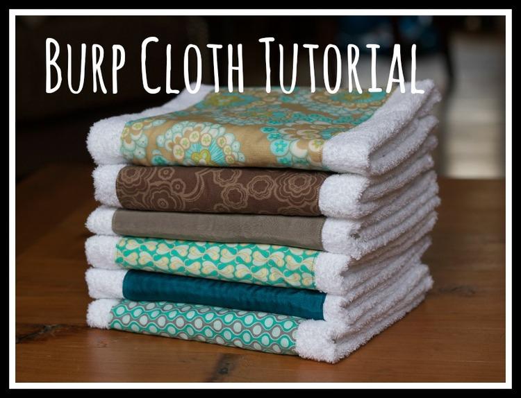 Burp Cloth Tutorial