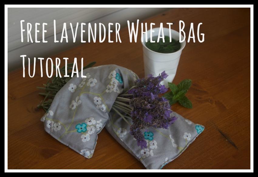 Lavender Wheat Bag Tutorial