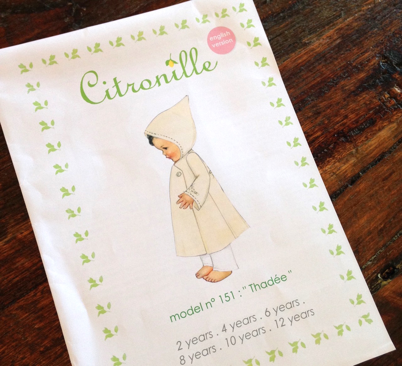 Citronille Challenge : Thadee Coat Pattern | Willow & Stitch