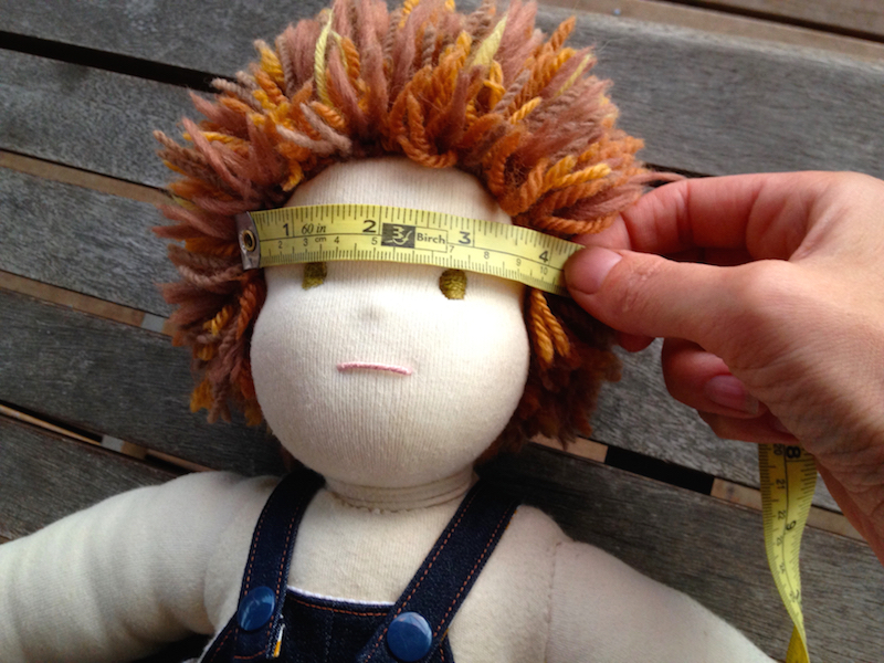 Scaling masks to create doll costumes
