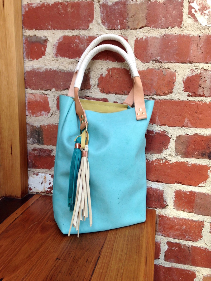 Leather bag making workshop with April Rhodes   Willow & Stitch
