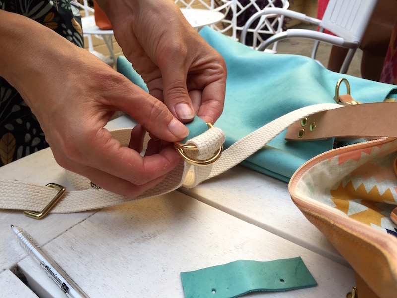 Leather Bag Making Workshop with April Rhodes | Willow & Stitch