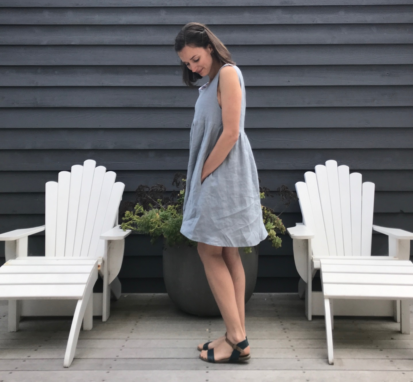 Linen Metamorphic dress by willow and stitch.JPG