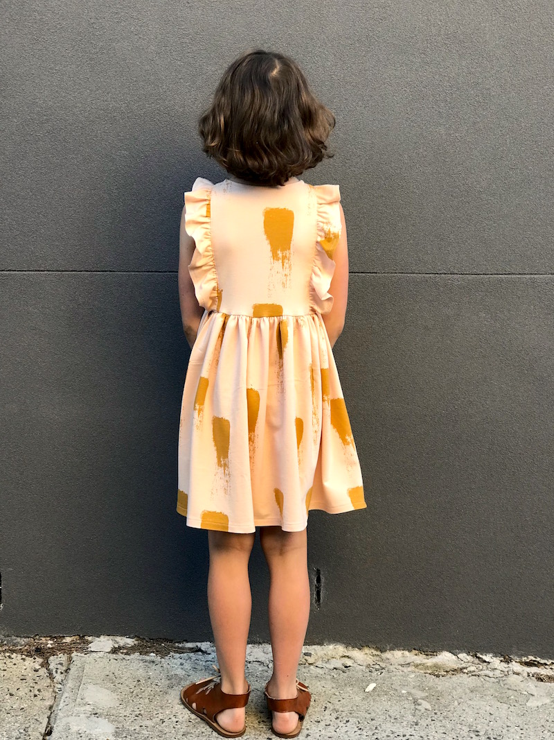 Sleeveless Millie Dress in See You at Six French Terry