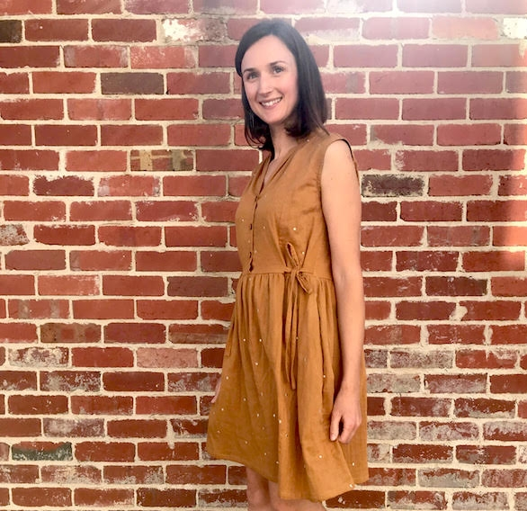 Cocowawacrafts Honeycomb Dress Pattern Review by Willow and Stitch