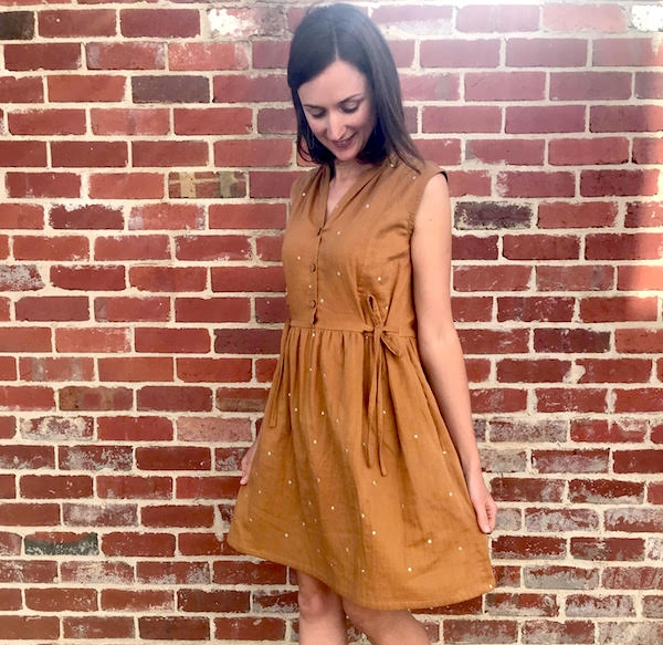 Cocowawacrafts Honeycomb Dress - Pattern Review by Willow and Stitch