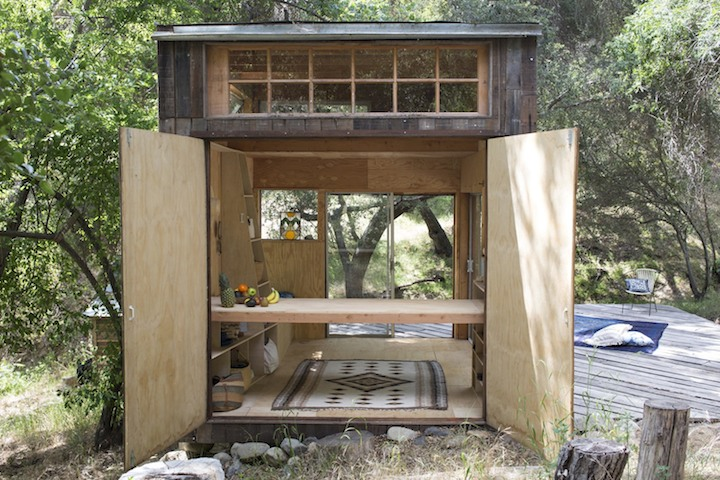 """Self-made """"Cabin"""" in Topanga, California"""