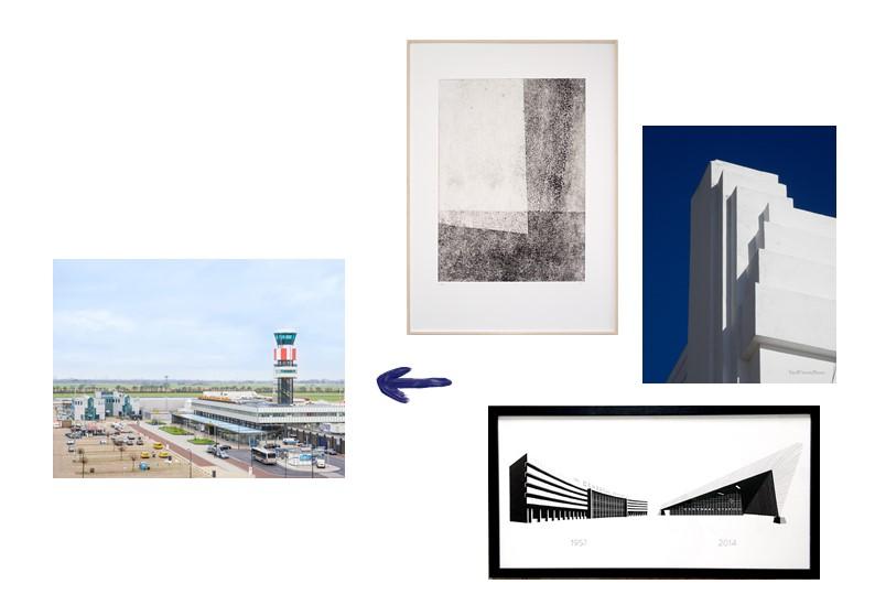 KUNST IN KANTOORRUIMTE - IN OPDRACHT VAN ROTTERDAM THE HAGUE AIRPORT