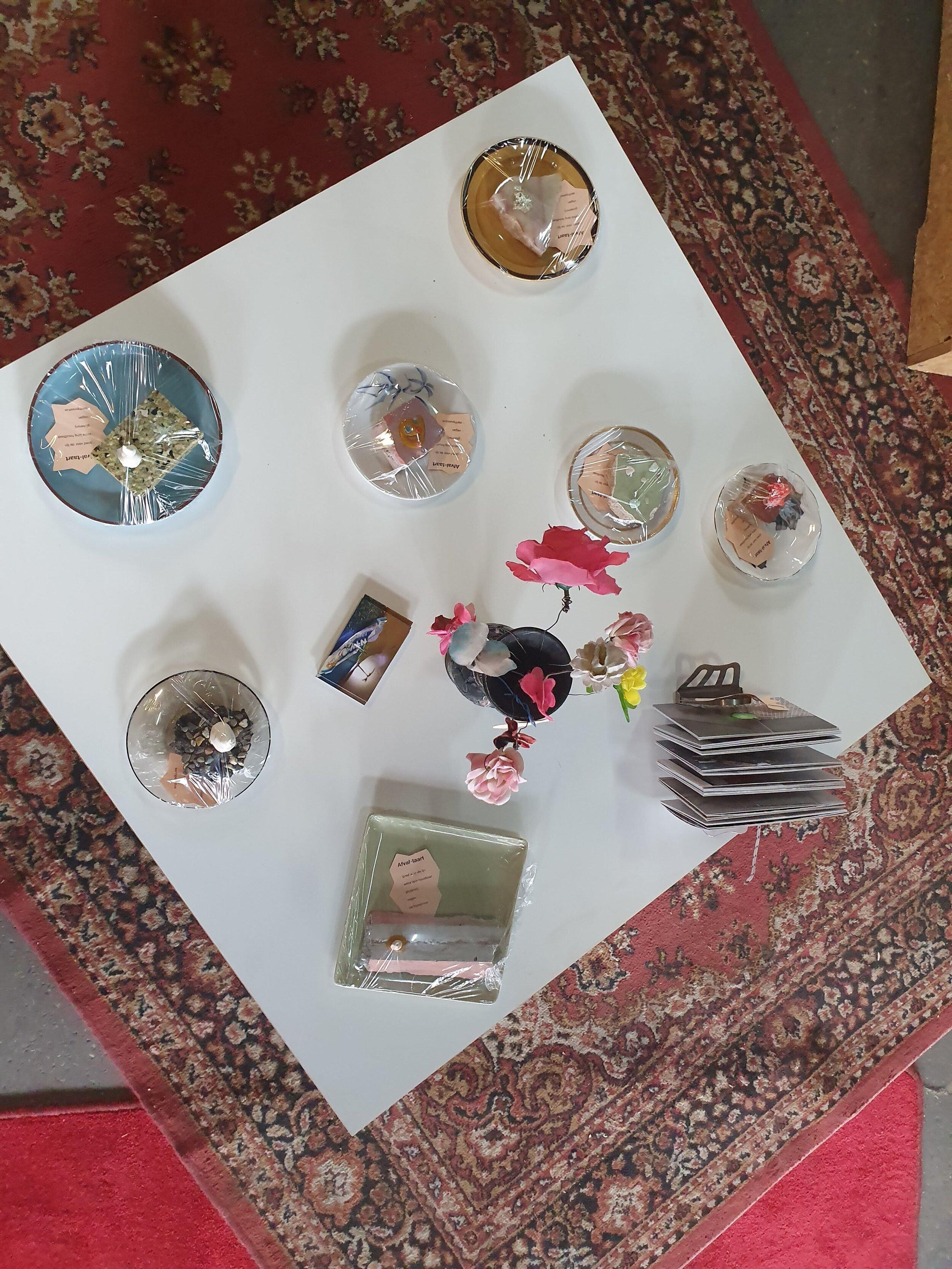 De kunstige taartjes van Malou Cohen