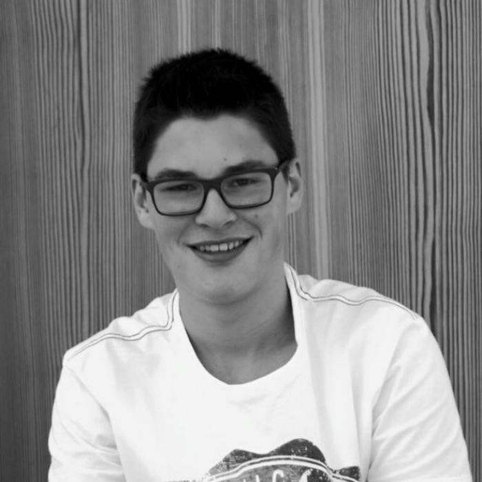 ANDRI LUCAS   Lehrling, Bauzeichner und talentierter Euphoniumspieler