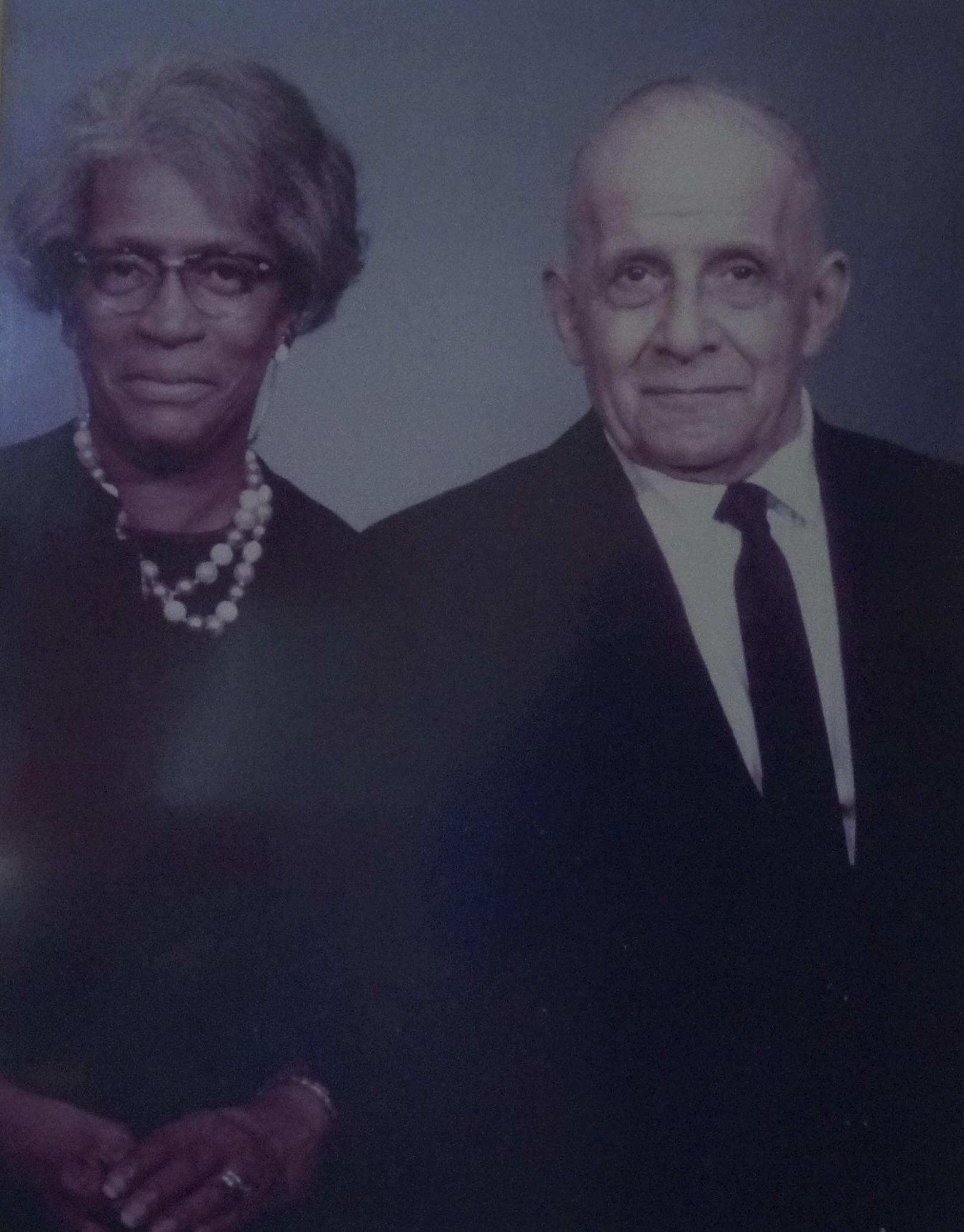Mary's parents, longtime Syracuse natives.