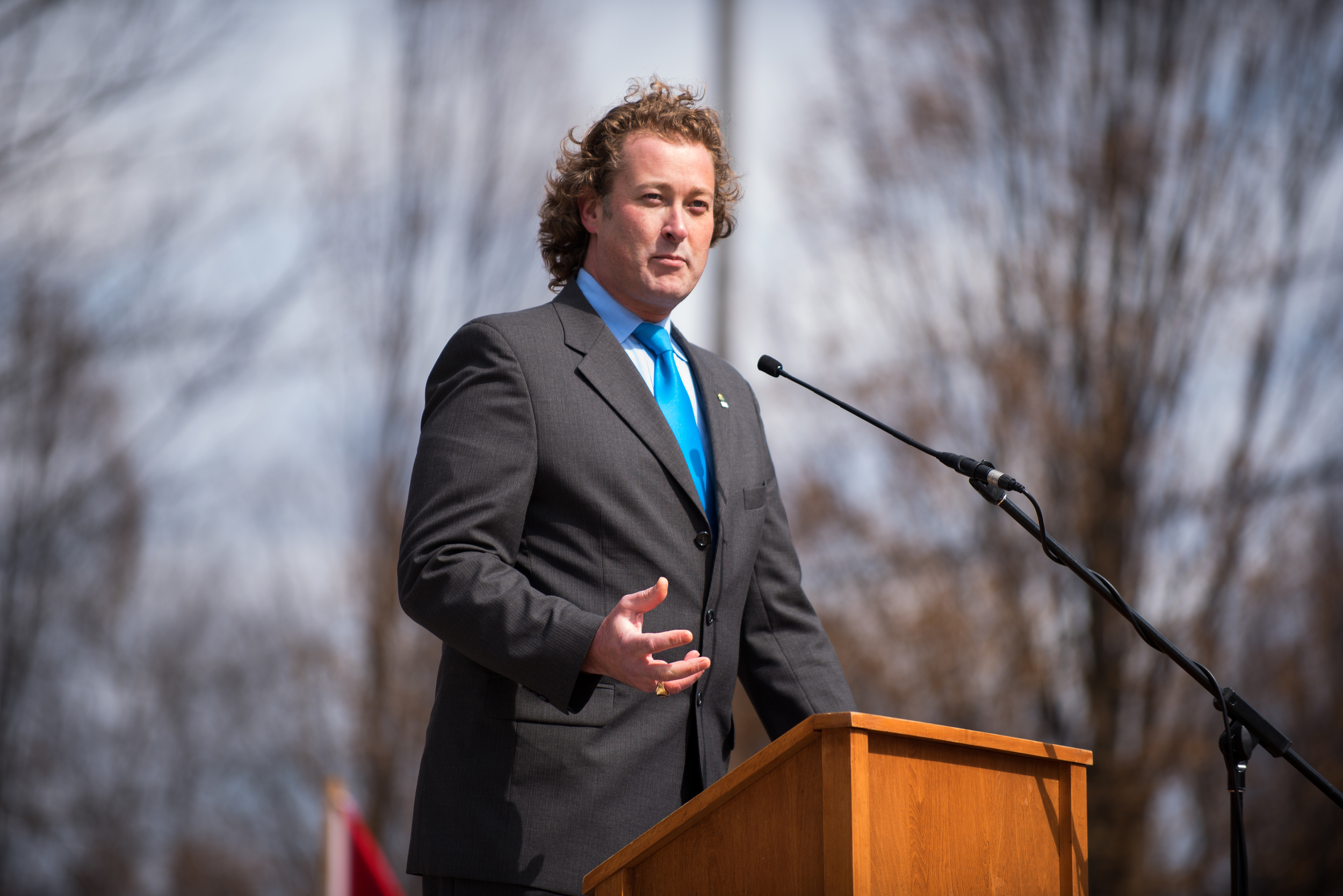 Woodstock Ontario's Mayor: Trevor Birtch, Speech.