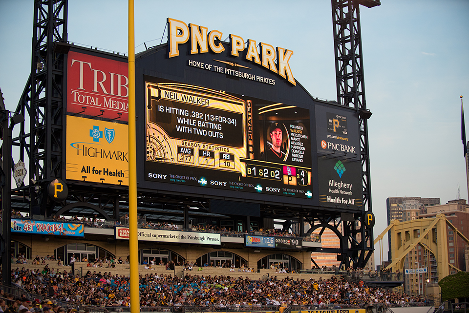PNC PARK game board