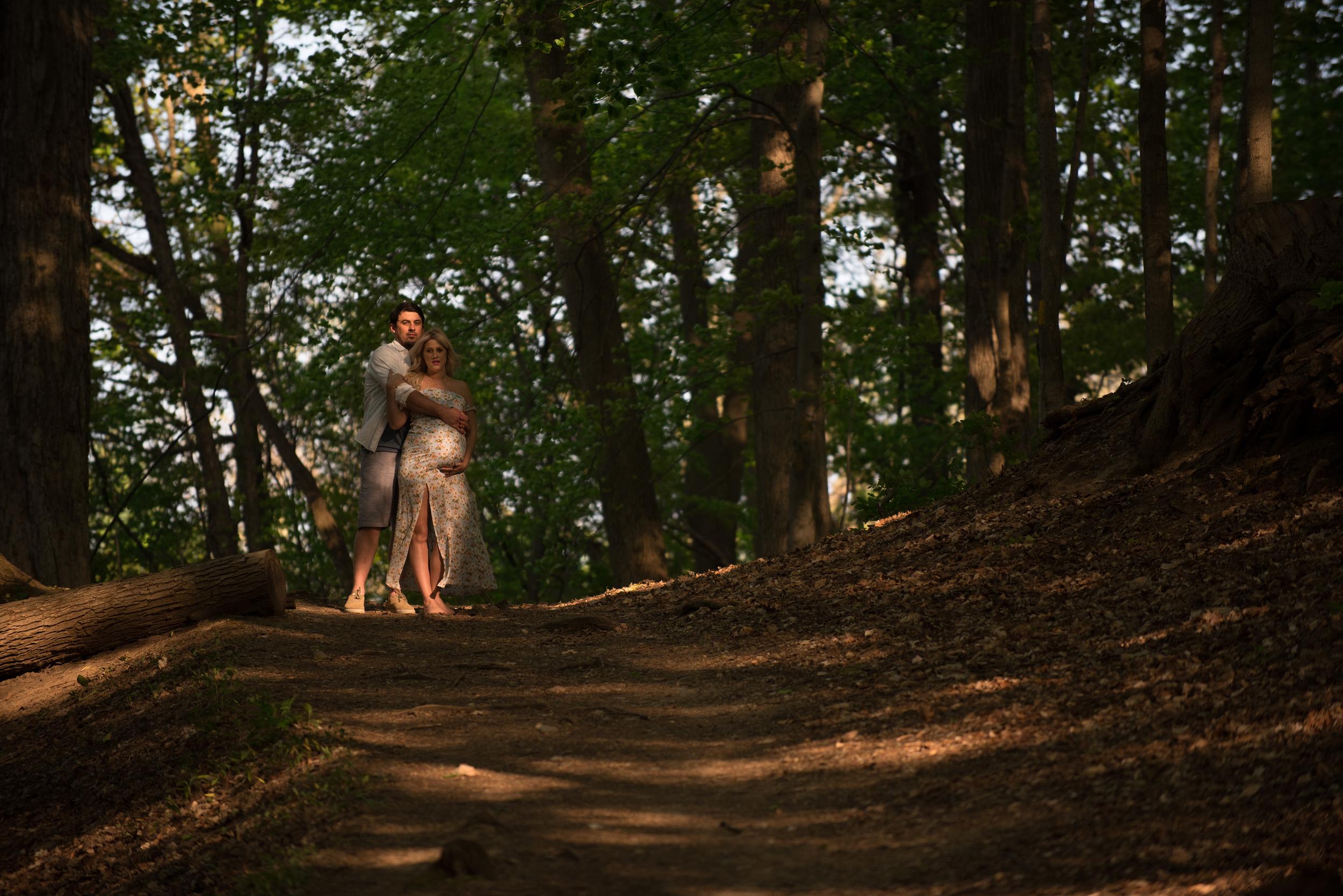 Cassidy & Ben Forest Path Hill - Print.jpg
