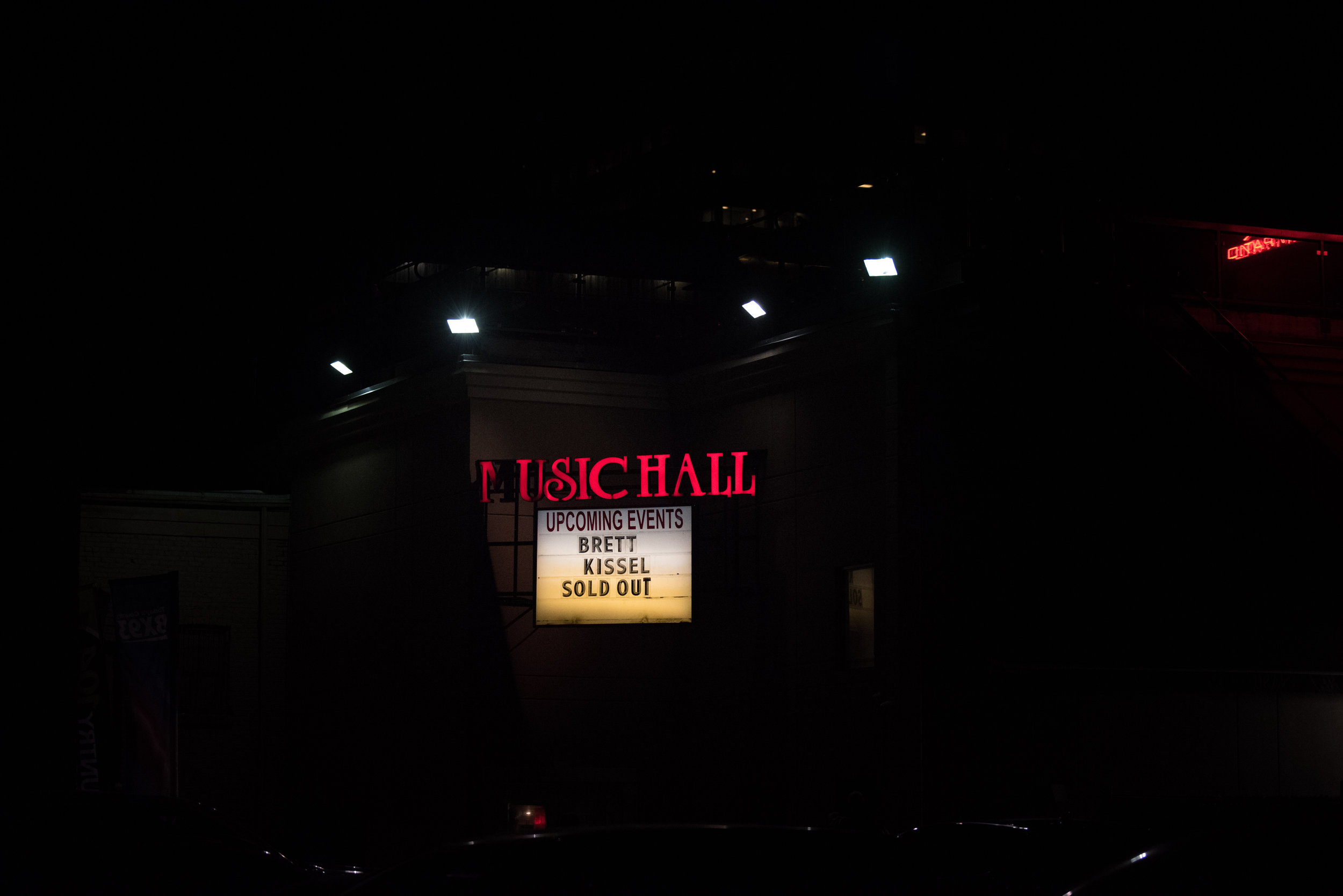 BRETT KISSEL WITH DAN DAVIDSON: Sold Out show #2 at the amazing London Music Hall.