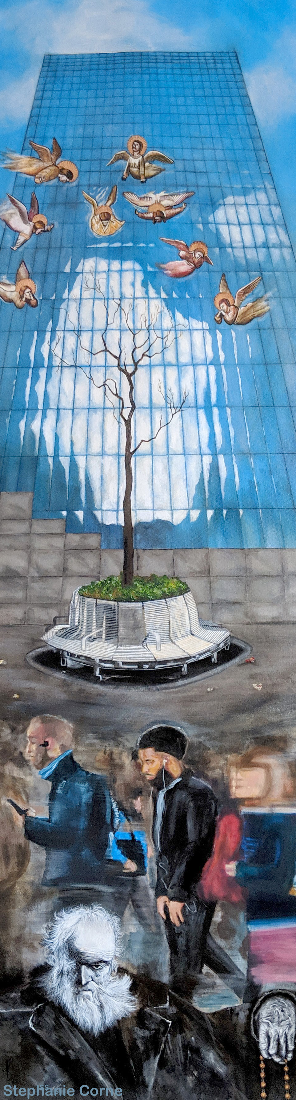 Signa Wall Street painting with no Borders Stephanie Corne.jpg