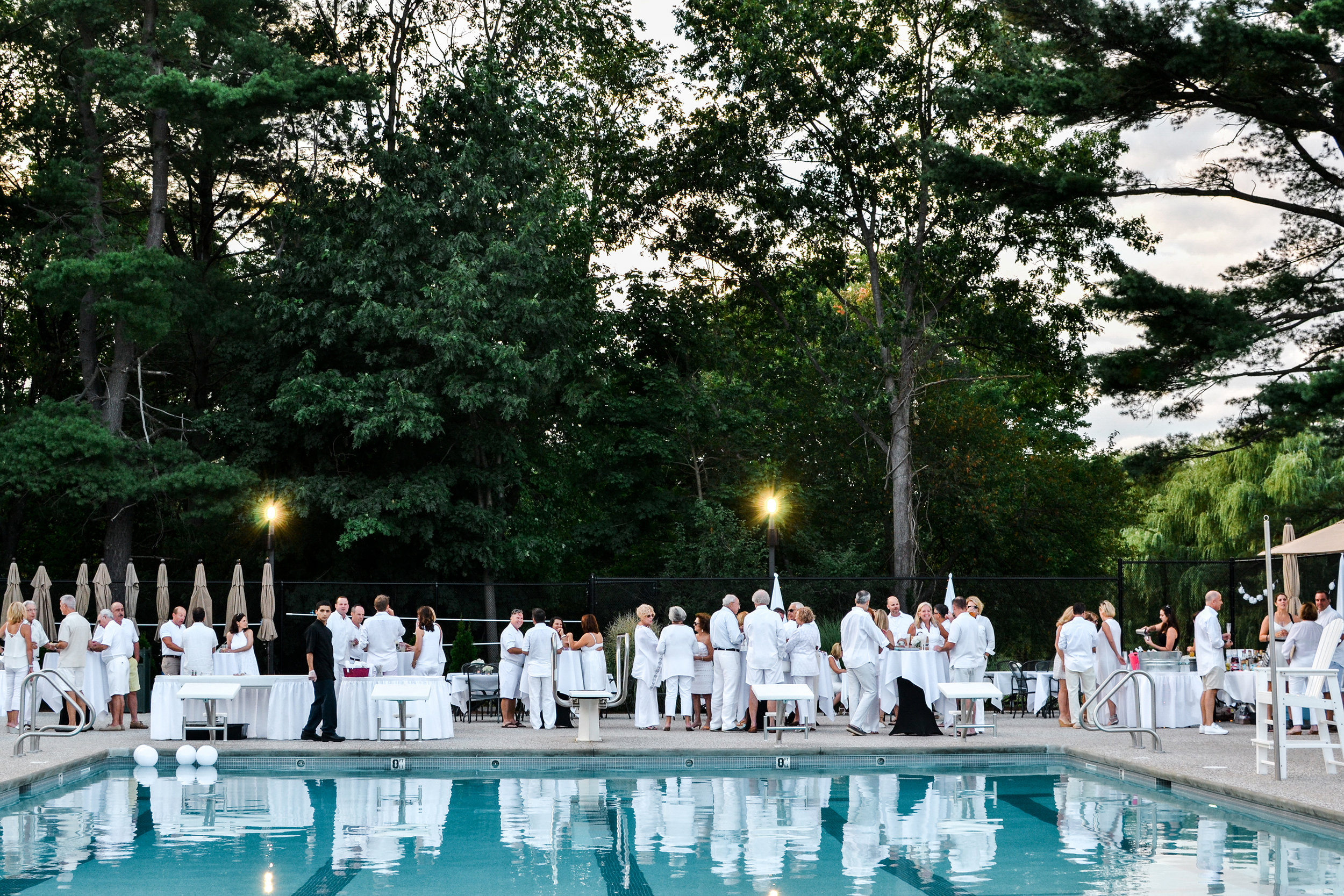 White Party at the Bellevue Golf Club