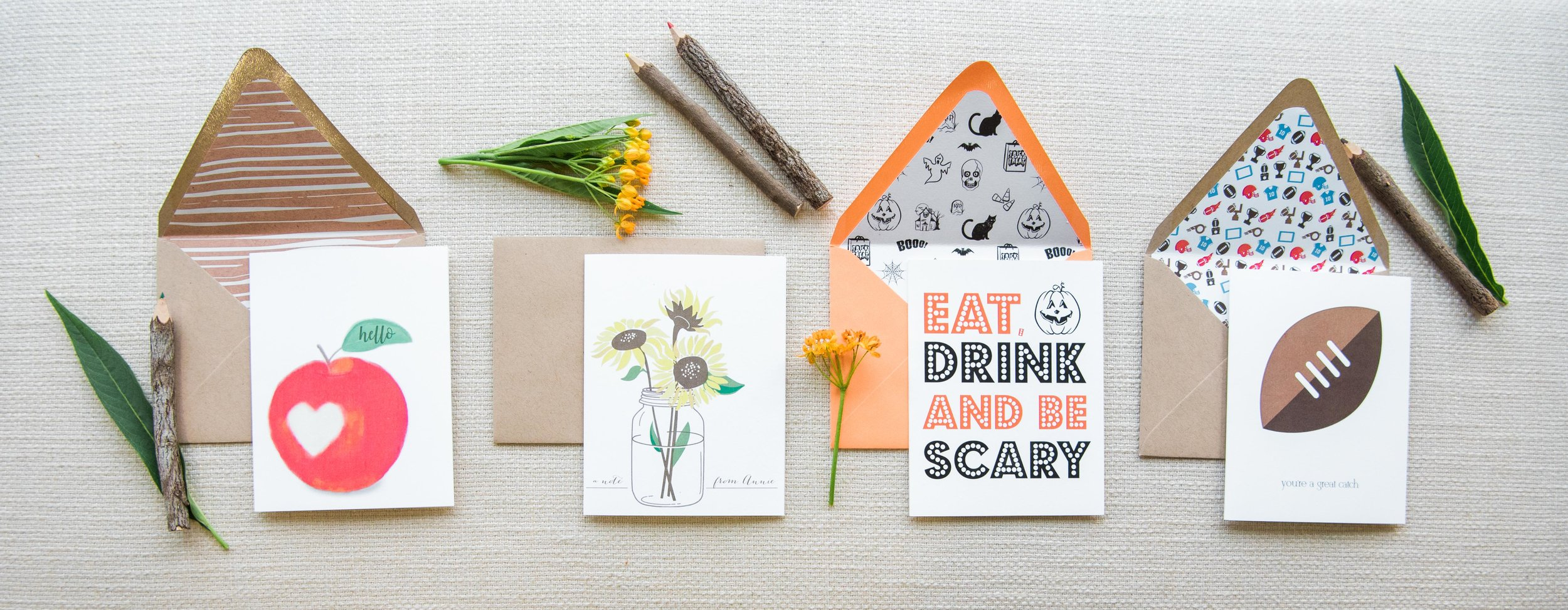 October's stationery subscription