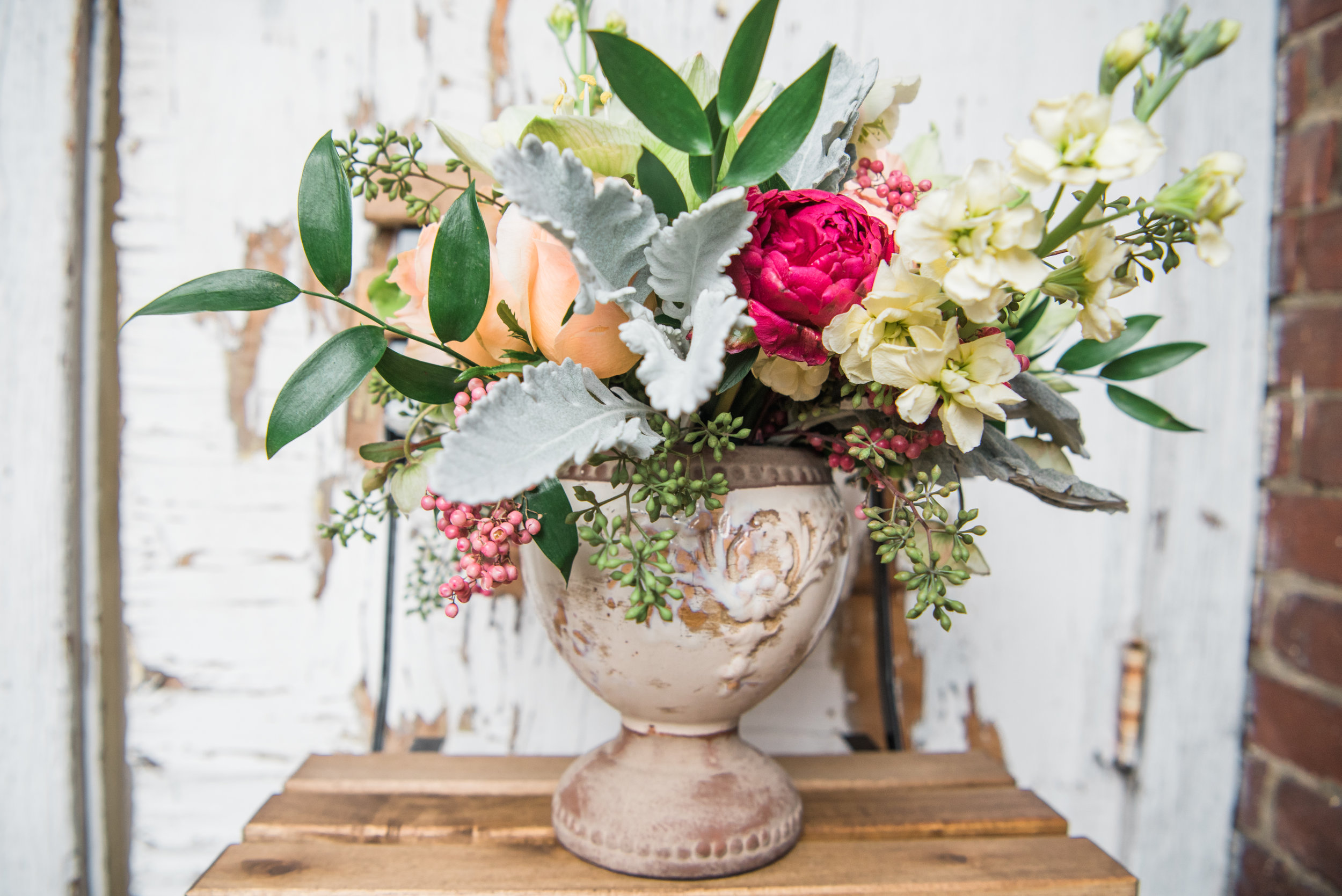 Alexa Gallishaw's florals from December's small business promo