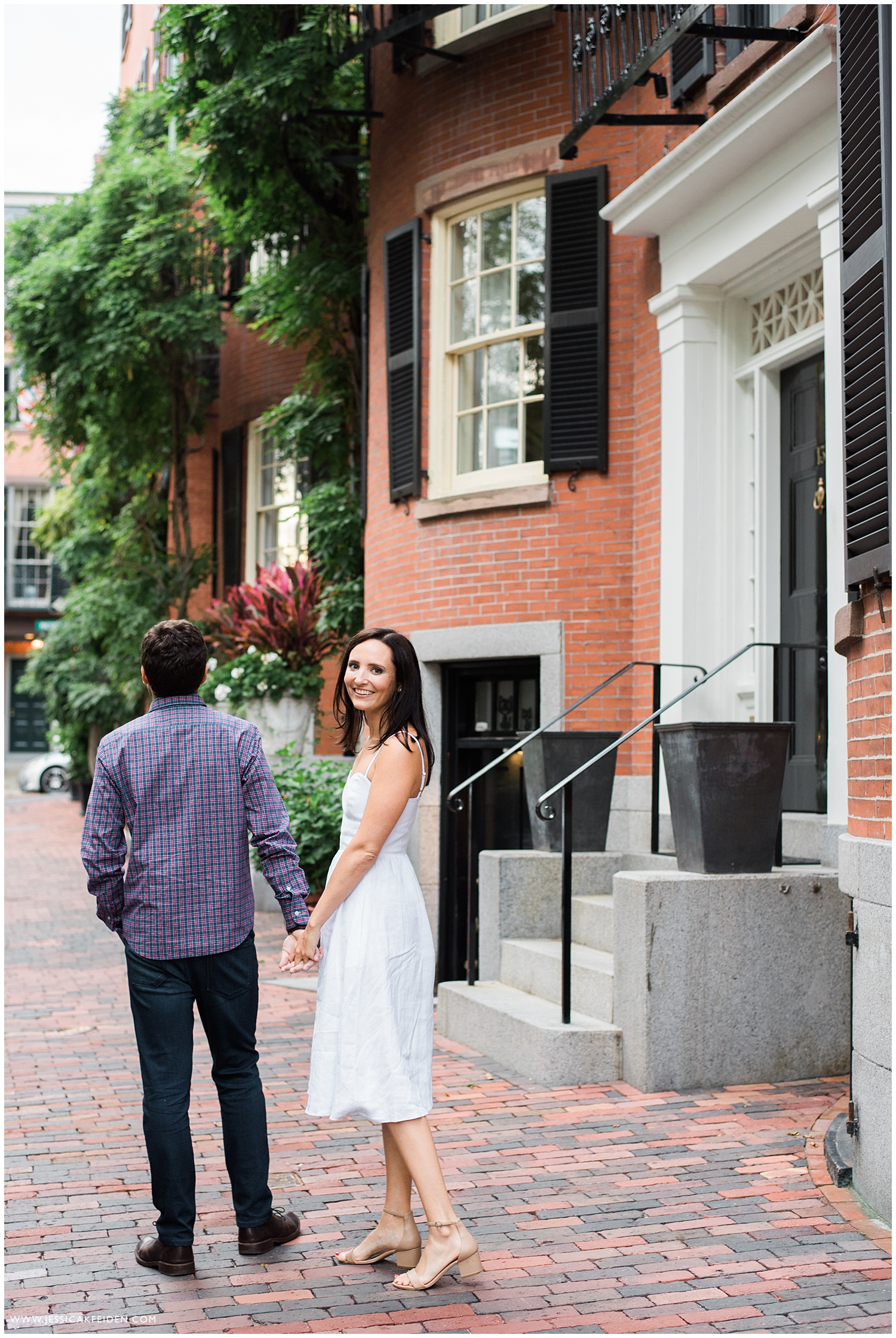 Jessica K Feiden Photography_Beacon Hill Boston Engagement Session Photographer_0007.jpg