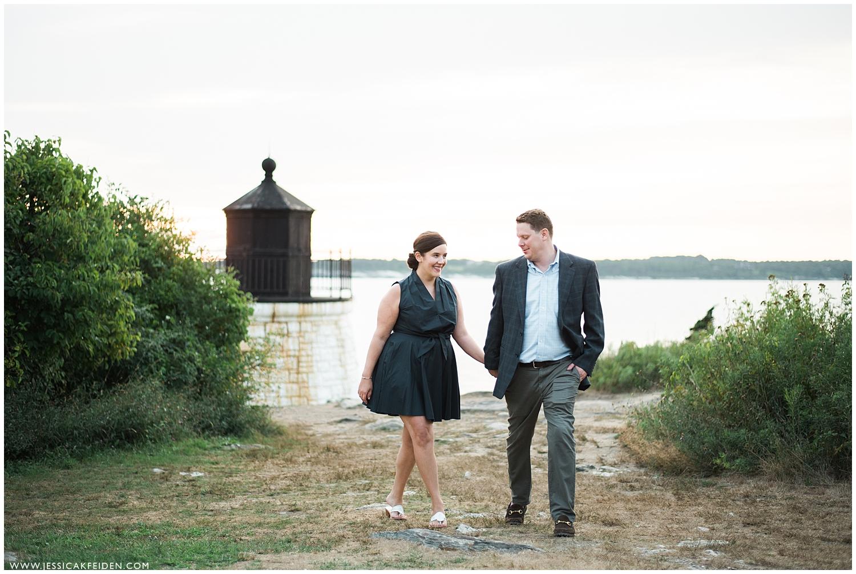 Jessica K Feiden Photography_Castle Hill Lighthouse Newport Engagement Session Photographer_0007.jpg