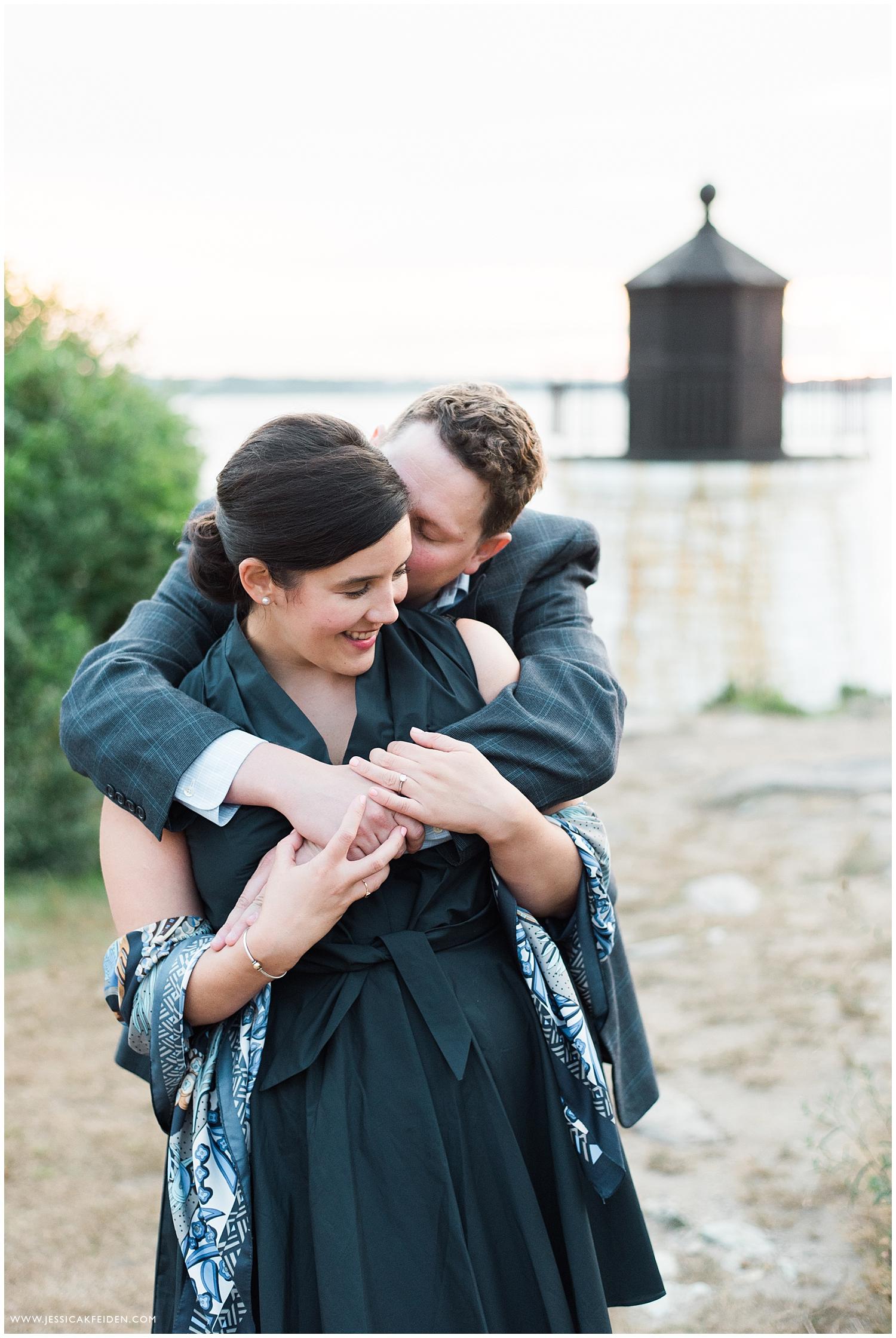 Jessica K Feiden Photography_Castle Hill Lighthouse Newport Engagement Session Photographer_0009.jpg