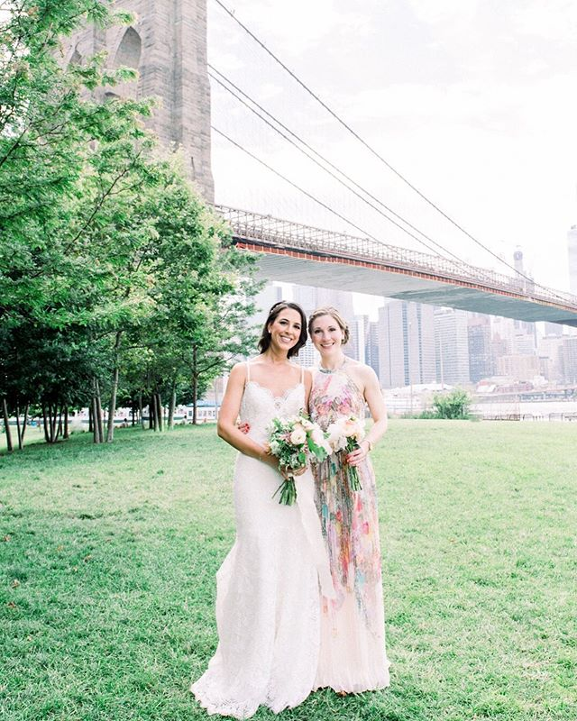 Last Wednesday I was hopping around NYC for the day and made a quick trip to Brooklyn. Seeing Jane's Carousel & the Brooklyn Bridge made me reminisce about the first wedding I ever photographed. I can hardly believe it was three years (& 2 days!) ago. No matter how much time passes, it will be one day I will never forget! 💕