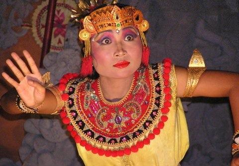 Traditional dancer, Ubud, Bali