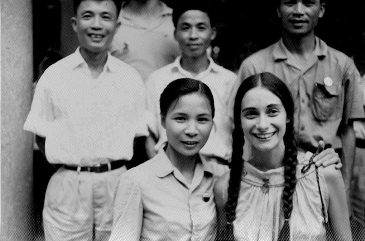 Naomi Jaffe with Vietnamese hosts