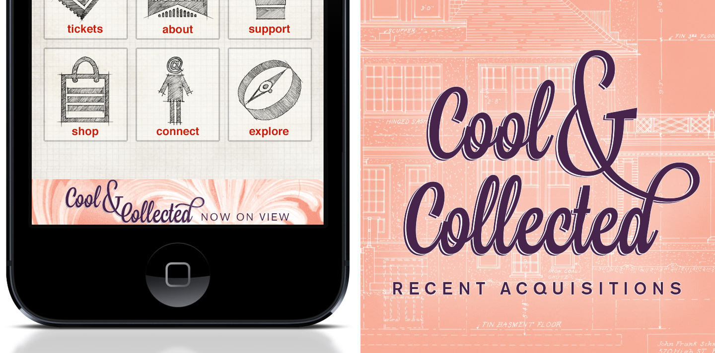 I designed mobile app ads and web assets as part of the marketing campaign for the exhibition.