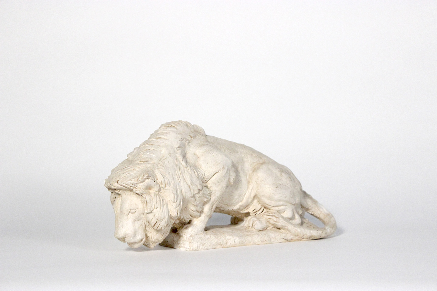 Lion maquette by Raymond Kaskey for a sculpture at the National Law Enforcement Memorila.