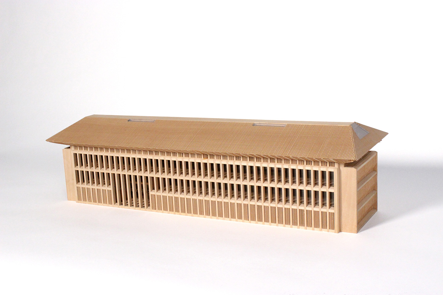 Model of the U.S. Embassy in Sri Lanka by architect Victor Lundy.