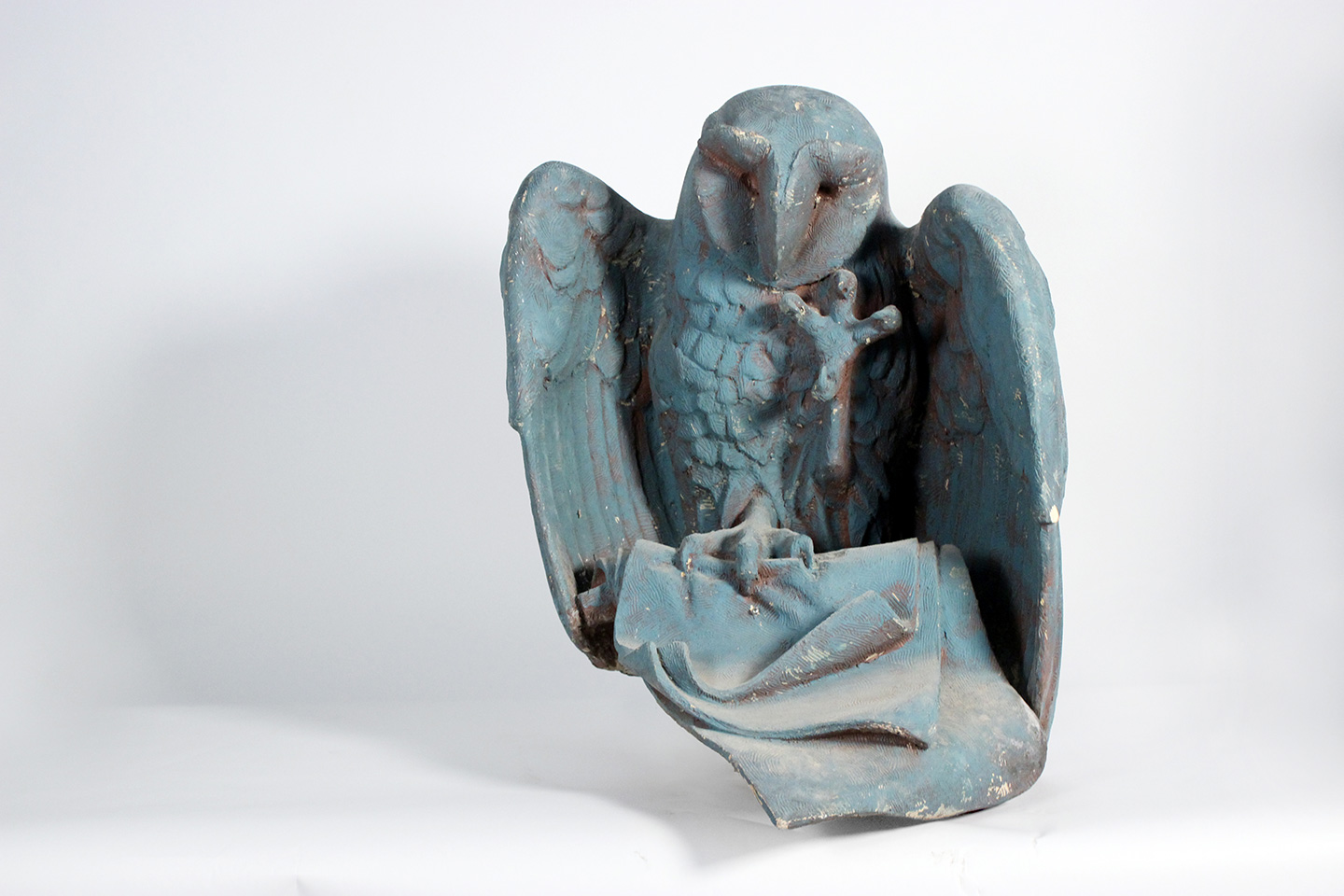 Owl maquette my Raymond Kaskey for the Chicago Public Library.