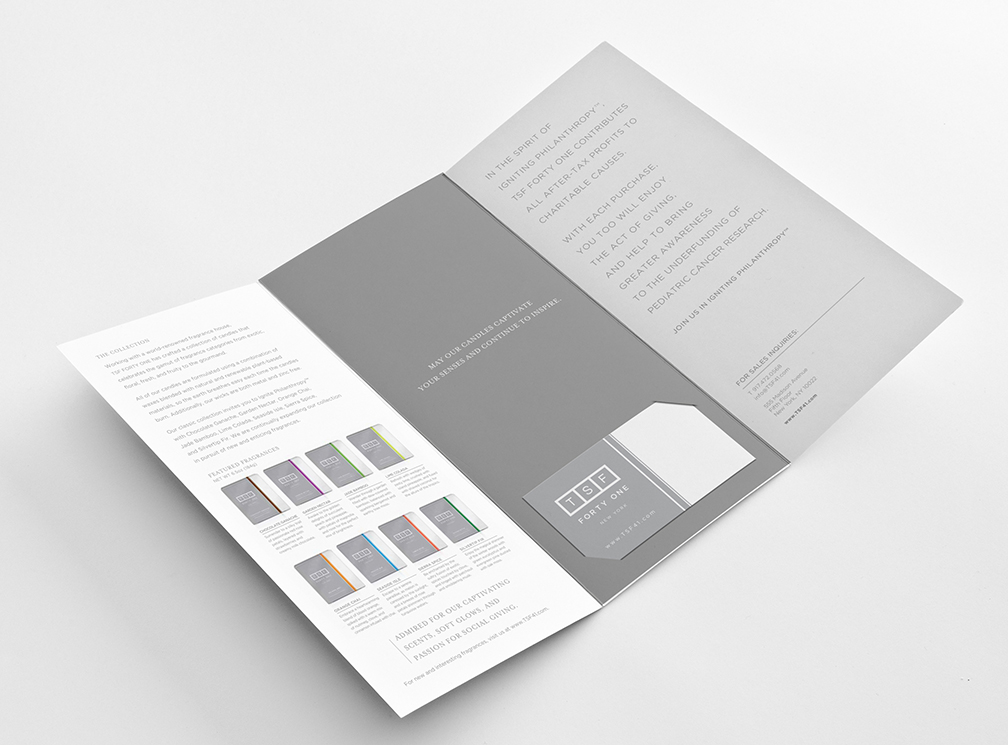 TSF FORTY ONE BROCHURE, INTERIOR