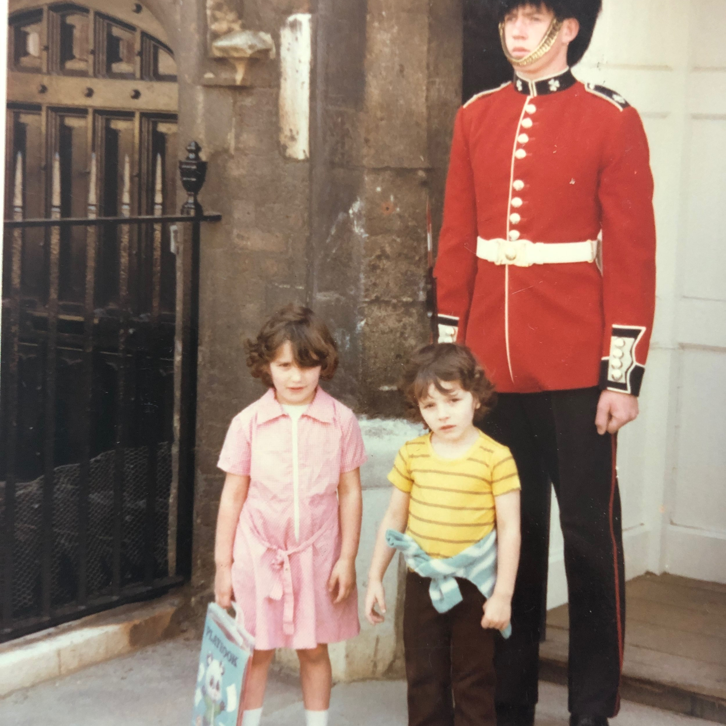 i arrived in england from spain when i was five, after my parentS divorceD. i couldn't speak any english in this picturE, but it didn't take me too long to learn. if only i could LEARN new languages as quickly now!