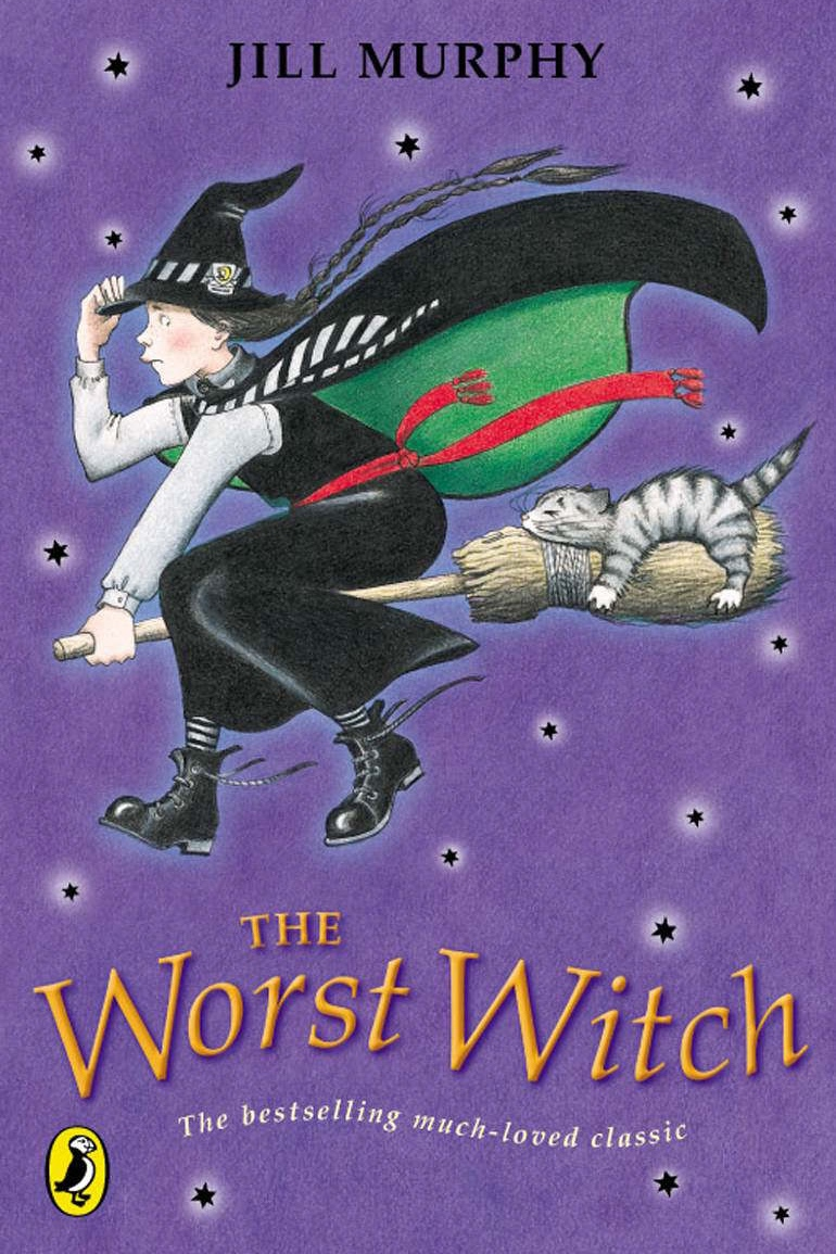 the worst witch  by jill murphy. the original harry potter.
