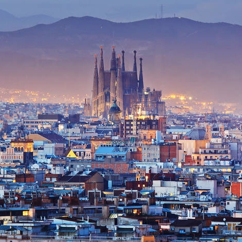 BARCELONa, spain  - where i lived until i was five years old
