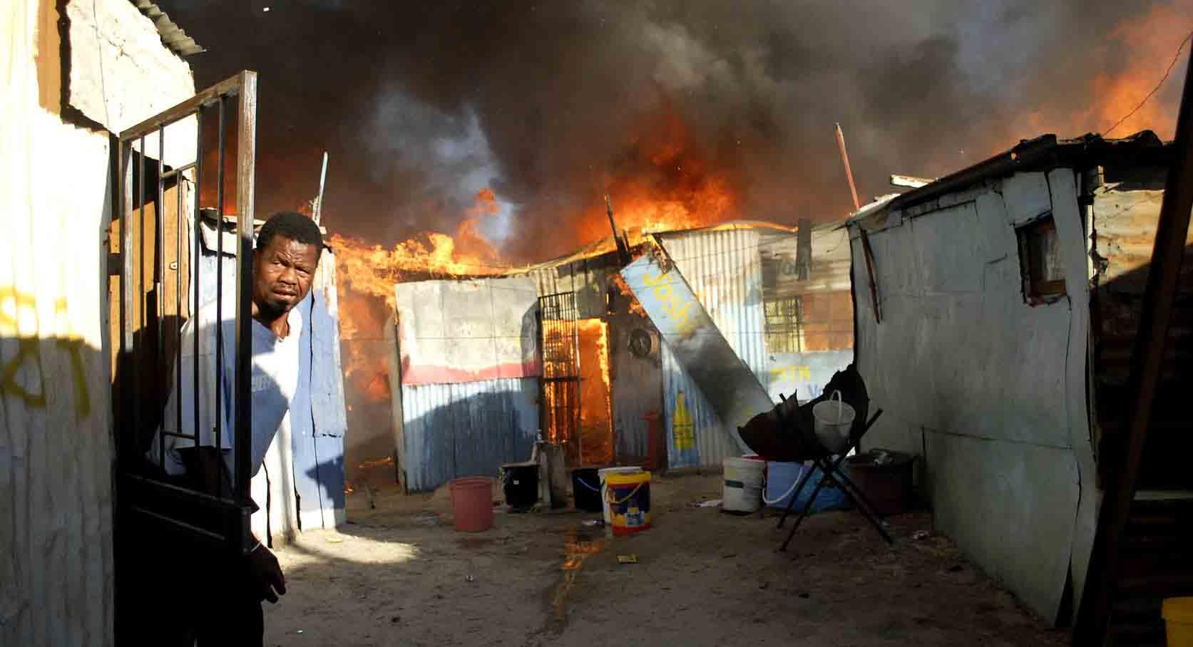 Khayelitsha Fire