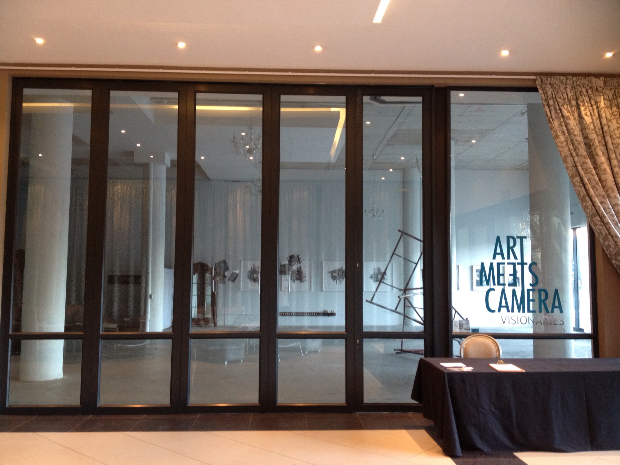 Art Meets Camera Exhibition entrance