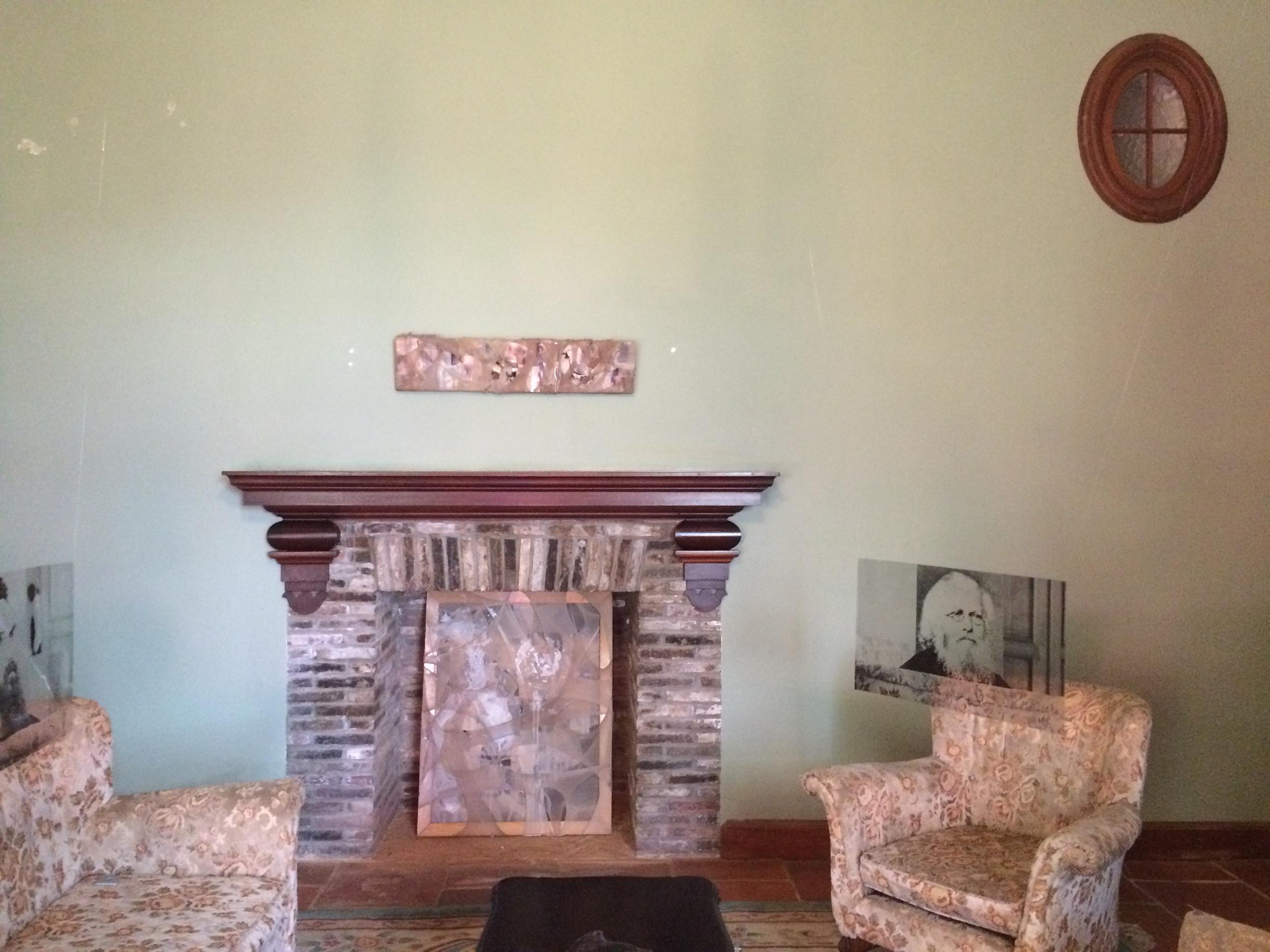 Marcus Viljoen (above furniture) and Alice Gauntlett (fireplace)